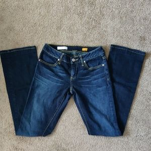 Pilcro low rise bootcut jeans